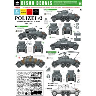 POLIZEI 2. GERMAN POLICE