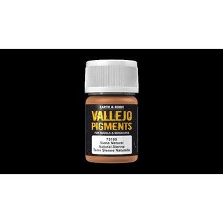 Vallejo Pigments 73.105 Natural Sienna