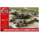 1/72 Eight Airforce Boeing B-17 & Bomber Re-Supply set