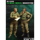 1/35 US HELO crew (2) Briefing