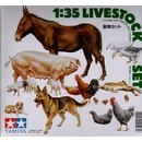 1/35 Livestock Set Diorama set Farm Animals/Tiere