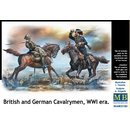 British and German Cavalrymen, WWI era?