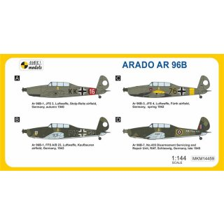Arado Ar-96B Ubiquitous Trainer (2in?