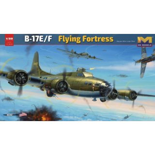 1/32 Boeing B-17E/F Flying Fortress.
