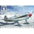 Yakovlev Yak-1 winter version on skis