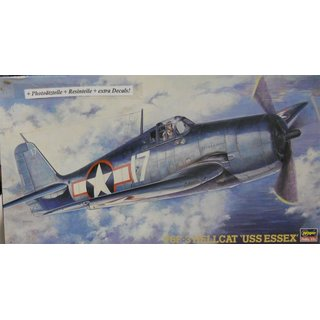 1/48 F6F-3 Hellcat USS Essex US Fighter WWII