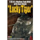 1/35 US SHERMAN M4A1 wth Cast Cheek Lucky Tiger