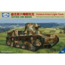 1/35 Vickers 6-ton light Tank Alt-B early produchtion...