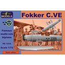 Fokker C.VE floatplane Sweden