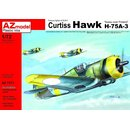 Curtiss Hawk H-75A-3 Sussu over Finlan?