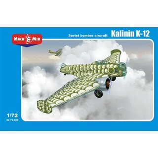 1/72 Micro-Mir Kalinin K-12 (includes a decal for the?