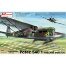 1/72 AZ Model Potez 540 Transport version (ex-Heller/Smer...