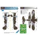 1/48 LF Models Henschel Hs-123A-1 Camouflage Painting...