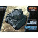 Meng Model German Pz.Kpfw.III World War Toon