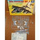 1/72 Italeri: British BAe Harrier GR.5 - kit complete