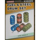 1/35 Hero Hobby Kits Fuel & Steel Drum set