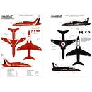 1/72 Xtradecal BAe Hawk T.1 2008 and Supermarine Spitfire...
