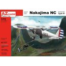 1/72 AZ Model Nakajima NC Type 91 re-issue of older AZM...
