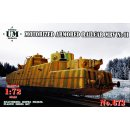 1/72 UM-MT MBV N°01 motorized armored railcar Length...