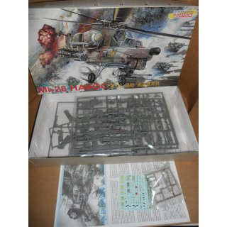 1/72 Dragon Mi-28 Havoc Russian/Soviet Attack Helicopter