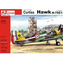 1/72 AZ Model Curtiss Hawk H-75C-1 French aircraft over...