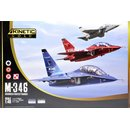 1/48 Kinetic Model Kits M-346 Master Advanced Fighter...