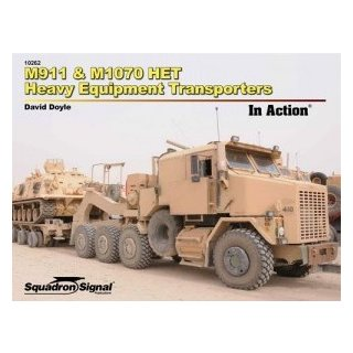 1/No Scale Squadron Signal M911 & M10770 HET Heavy Equipment Transporters in Action ?