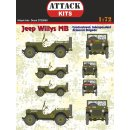 1/72 Attack Jeep Willys MB CIAB (Czechoslovak Independent...