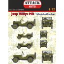 1/72 Attack Jeep Willys MB Cz. Army Corps
