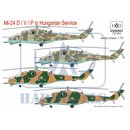 1/48 HAD Models Mil Mi-24D/Mi-24V/Mi-24P in Hungarian...