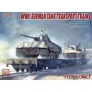 1:72 Modelcollect WWII German Tank Transport Trains