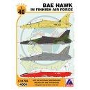 BAE HAWK T.1 IN THE FINNI