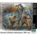 1:35 Master Box Hand-to-hand fight,German&British infant...