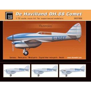 """""""1/72 SBS Model De Havilland DH.88 Comet """"""""Australia"""""""""""""""
