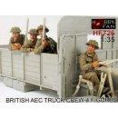 BRITISH AEC TRUCK CREW (4