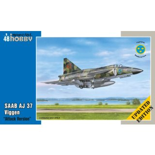 1/48 Special Hobby Saab AJ-37 Viggen Attack Version updated version