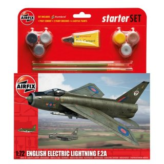 1:72 Airfix  English Electric Lighting F2A