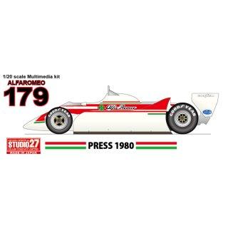 ALFAROMEO 179 PRESS 1980