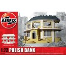 1/72 Airfix Polish Bank ready built - Diorama Ruin...