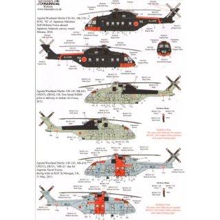 Agusta-Westland Merlin (8) CH-101 Mk.5?