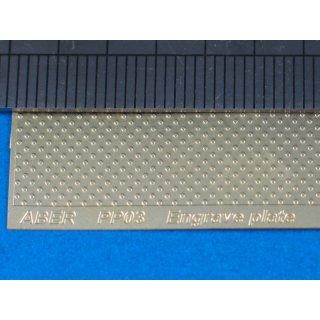 ENGRAVE PLATES  ( 90X60 M
