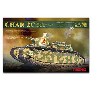 FRENCH CHAR 2C HEAVY TANK