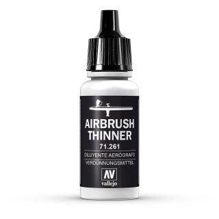 71261 Vallejo Airbrush Thinner 17ml