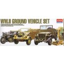 WWII VEHICLE SET, of Allied & Axis during WWII