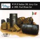 ITALIAN 20L JERRY CAN & 2