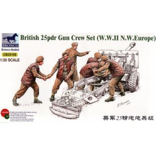 BRITISH 25PDR GUN CREW SE