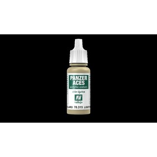 70315 Vallejo Panzer Aces Light Mud 17ml