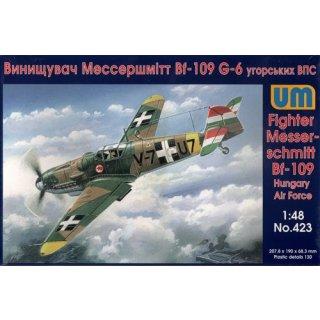 1/48 German Fighter Messerschmitt Bf-109 Hungary Air Force WWII