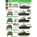 AFGHAN TANKS (12) T-62, B
