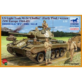 US LIGHT TANK M-24 CHAFF